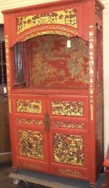 ka-010, Chinese cupboard, 30`s, h-210cm