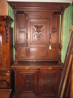 ka-014, French cupboard, 19.century, h-2,5m