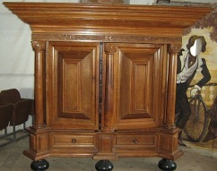 ka-020, cupboard from 19.century, l-240cm, h-212cm
