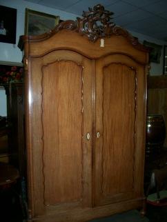 ka-035, Biedermeier style wardrobe, 1860y, l-158cm, h-2,4m