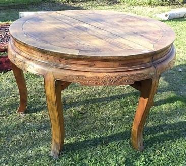 la-010, Chinese table, 40`s, l-128cm, h-81cm