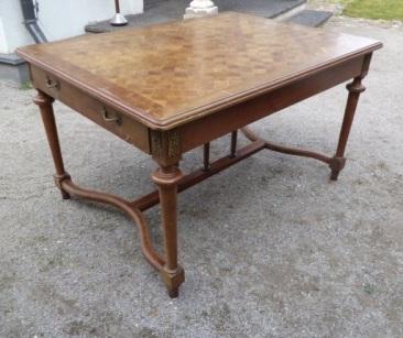 la-012, French table, 1900y, l-98cm, h-76cm