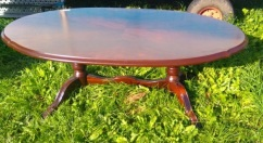 la-014, 50`s table, l-138cm, h-52cm