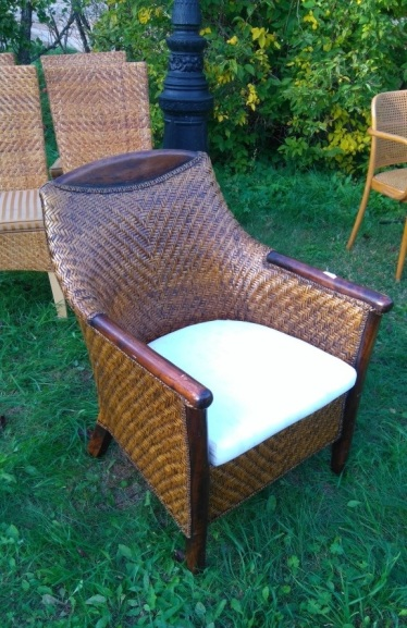 to-018, rattans chair from 50`s