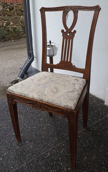 to-025, France chair from 1840y