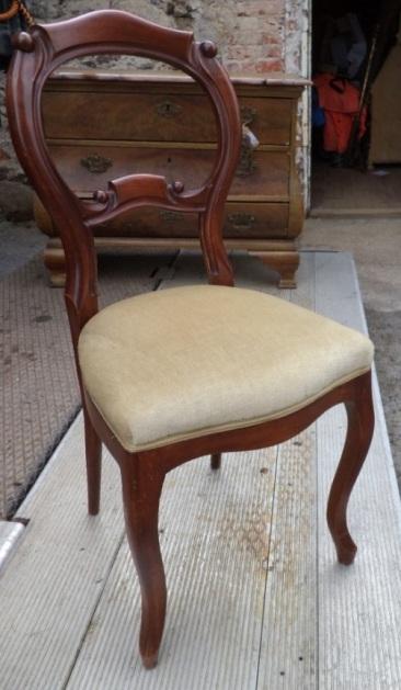 to-029, 3 Biedermeier chair, 19.century