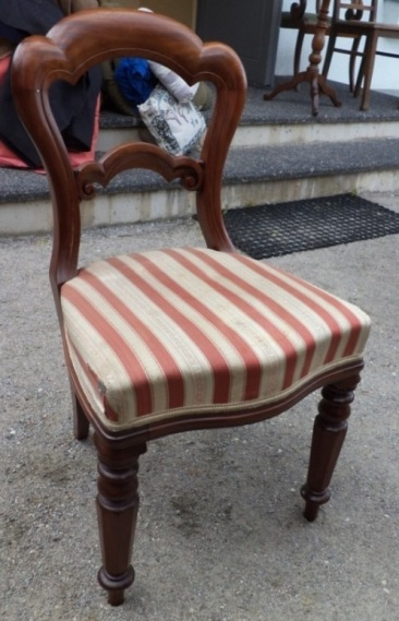 to-030, 3 Victorian style chair, 19.century