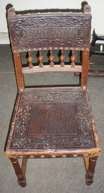 to-031, 6 French chair, 1900y