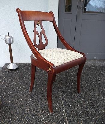 nr.h-028, Ampiir stiilis toolid, 4tk