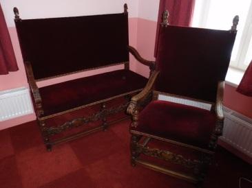 nr.h-077, kreslo, divan, 18.vek
